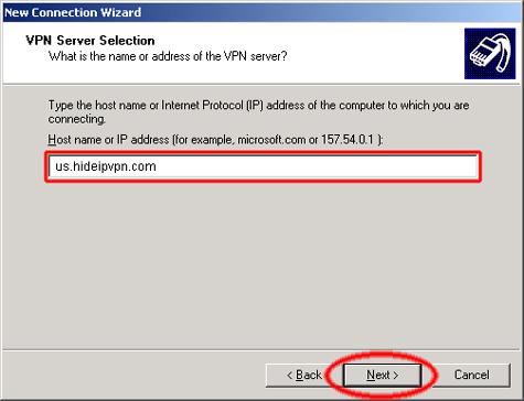 hideipvpn-enter-hostname