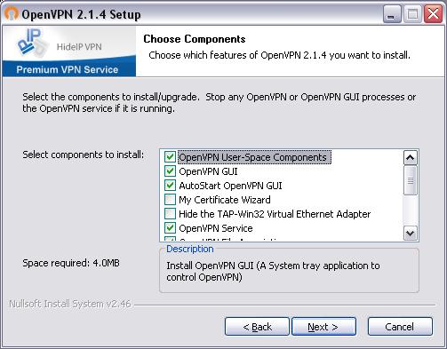 HowTo: Windows XP OpenVPN Setup Tutorial - HideIPVPN services