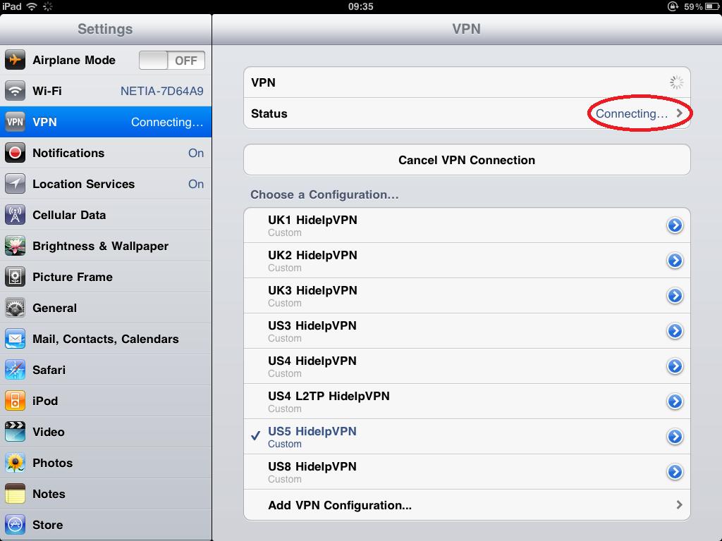 F5 vpn client configuration