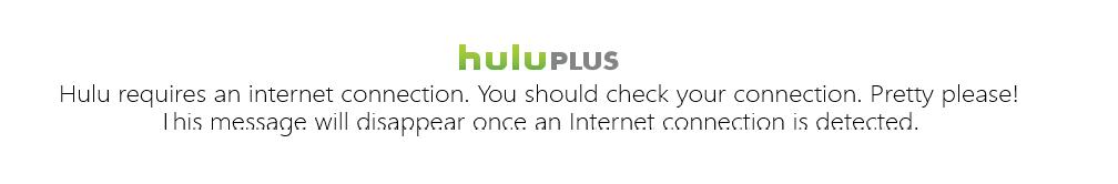 Hulu Plus error
