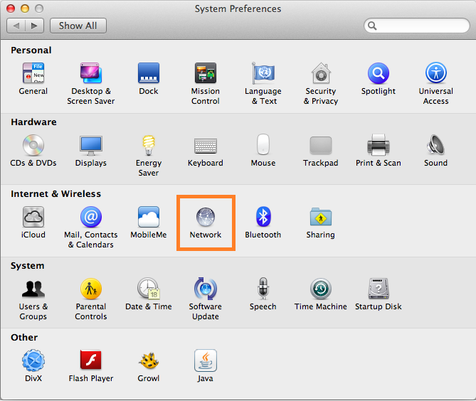 Smart DNS Mac OSX setup