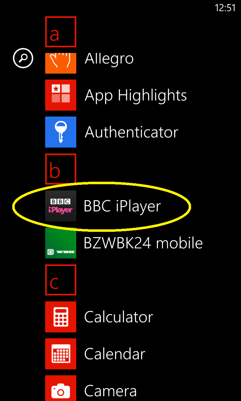 Windows Phone BBC iPlayer via Smart DNS
