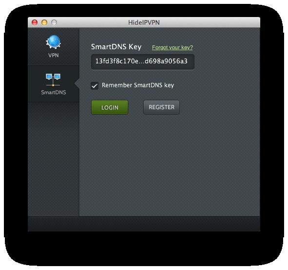 Mac OSX free VPn & Smart DNS app