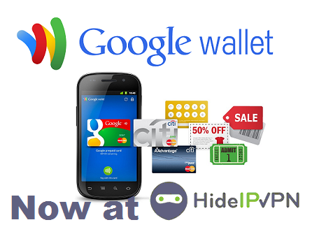 VPN Google Wallet