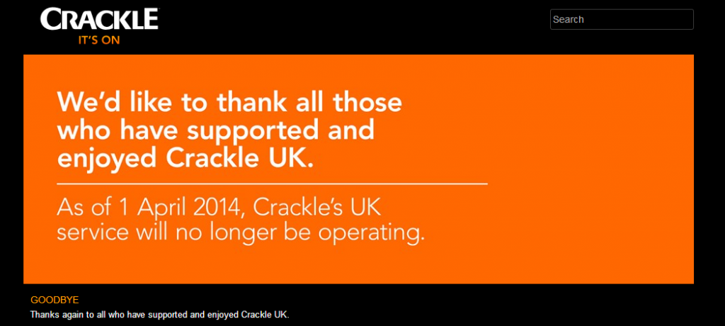 crackle UK