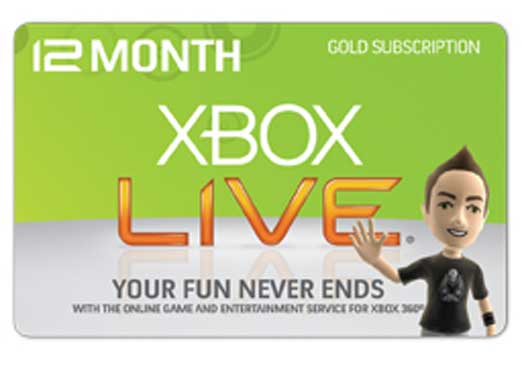 Xbox Live Gold Free