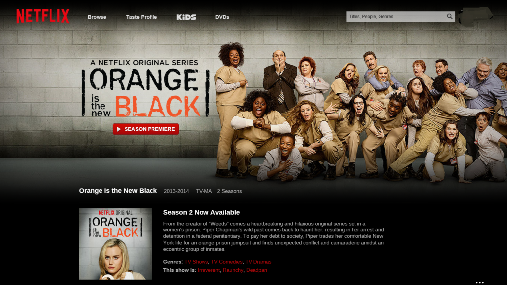 Orange si the new black 2