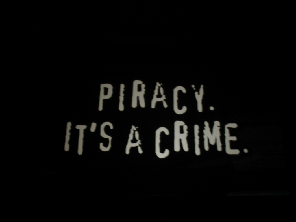 Piracy is a crime - get VPN