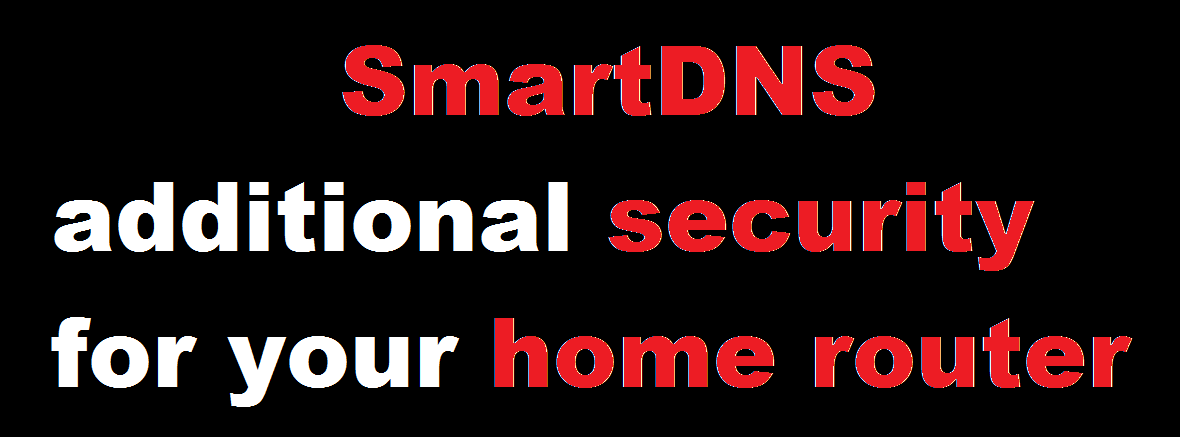 smartdns secure router