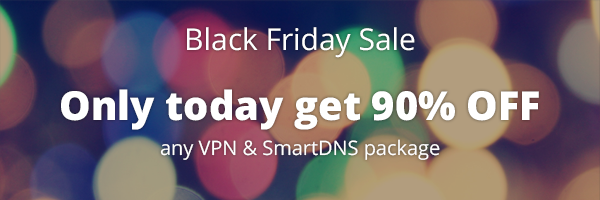 Black Friday VPN sale