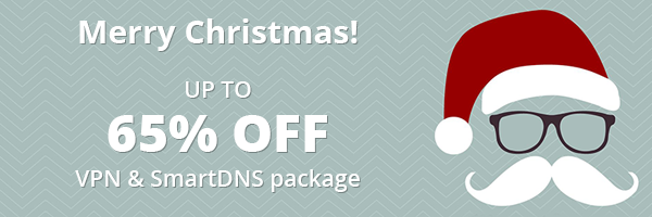 Christmas sale VPN & SmartDNS