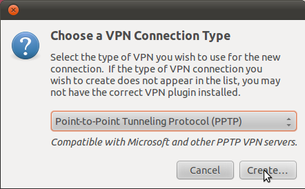 Linux PPTP VPN