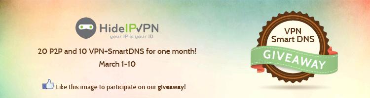 Spring VPN giveaway