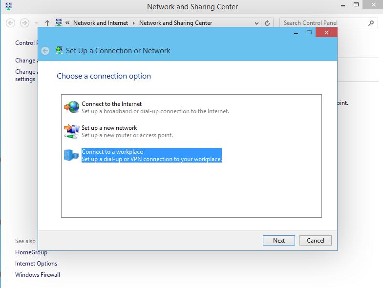 Windows 10 VPN