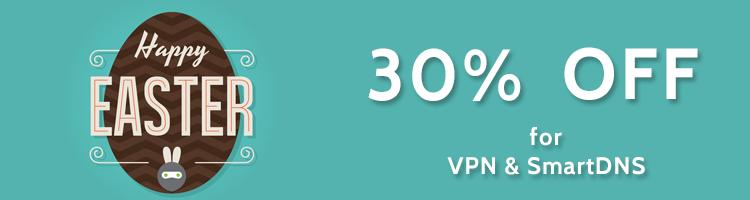 Happy Easter VPN SmartDNS