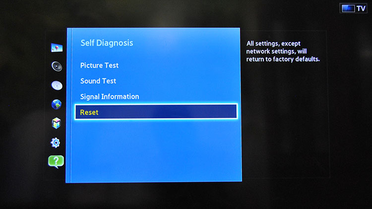 Change Region on a Samsung Smart TV – F series