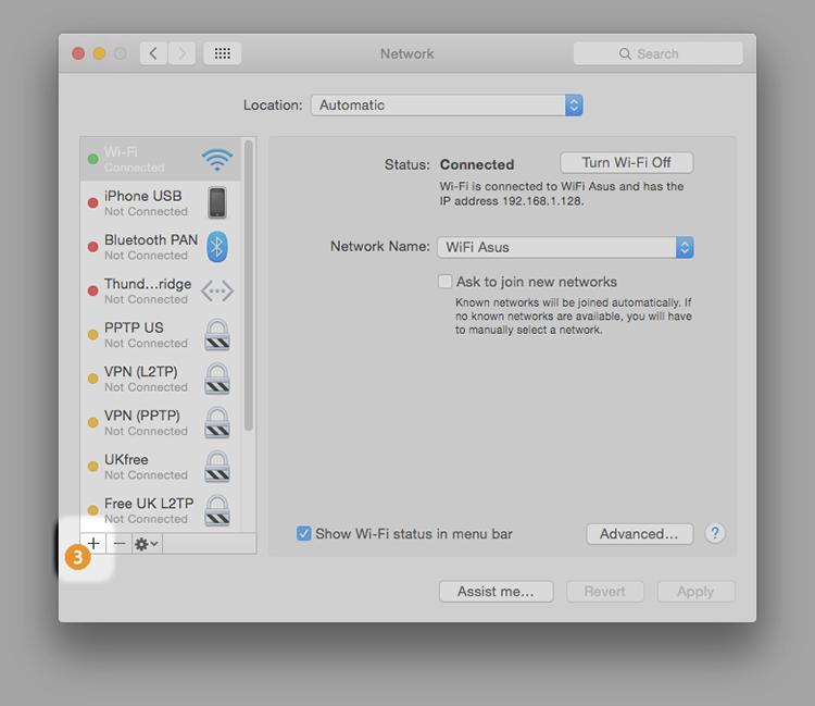 L2TP on Mac OS X