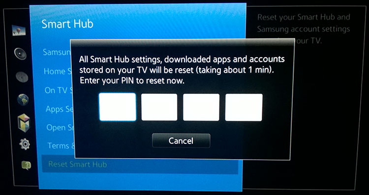 unblock Samsung Smart TV