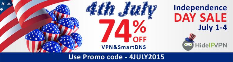 VPN & SmartDNS sale