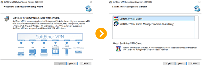 How to setup SoftEther VPN Client on Windows 10