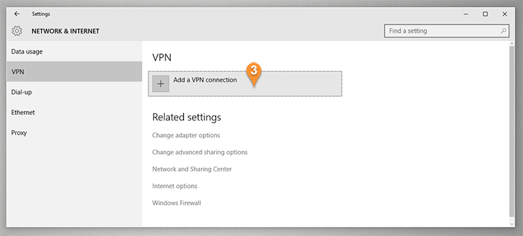 PPTP VPN on windows 10