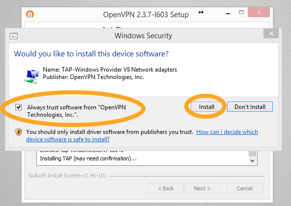 How to fix OpenVPN on Windows 10 after upgrade