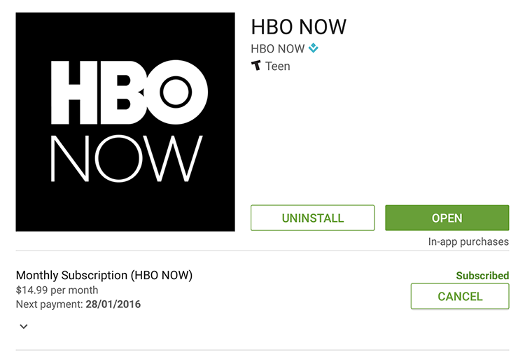 register HBO Now outside of USA
