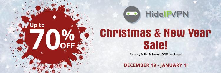 VPN Sale!