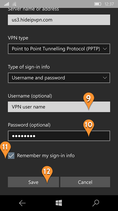 How to on vpn in mobile