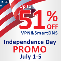 4th of July promotion - Happy Independence Day!