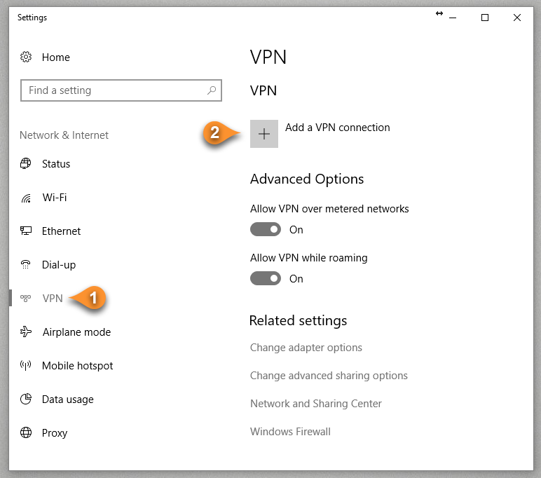 How to setup IKEv2 on Windows 10