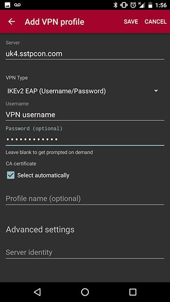 Configure vpn mikrotik