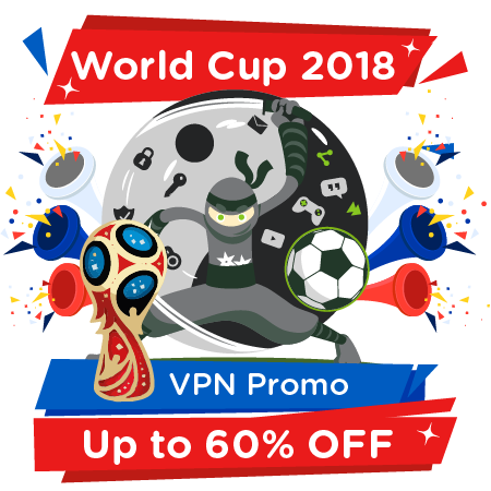 World Cup 2018 VPN Promo