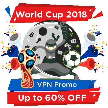 World Cup 2018 VPN Promo