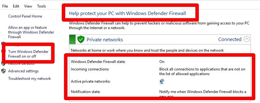 Firewall vs VPN