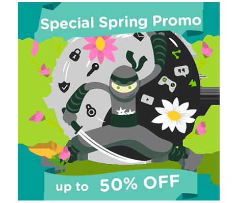 HideIPVPN Special spring promo