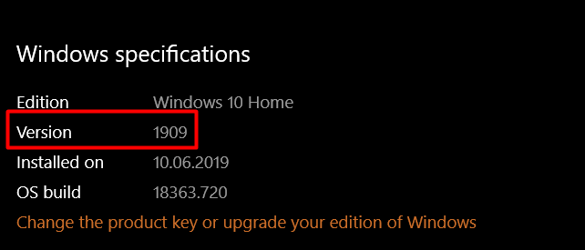 VPN connection problem on Windows 10