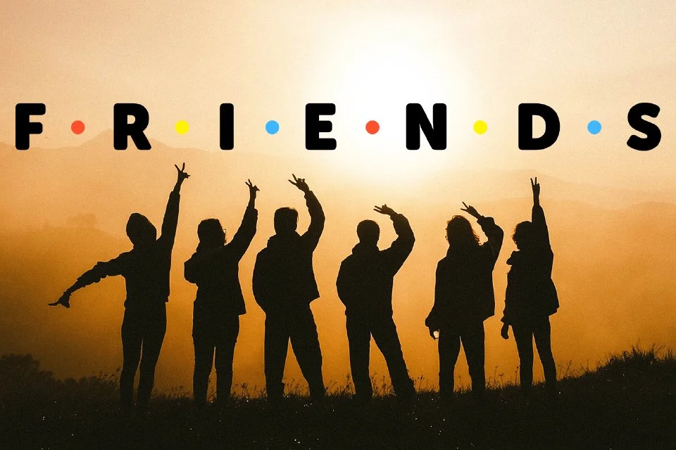 Friends The Reunion with HideIPVPN