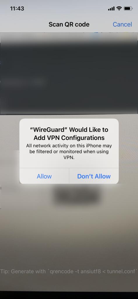 wireguard add vpn config