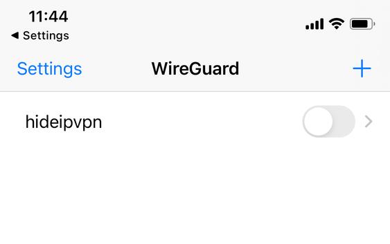 wireguard ios toggle
